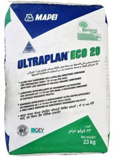 Mapei Ultraplan Eco 20 ajzatkiegyenlítő (23 kg/zsák)